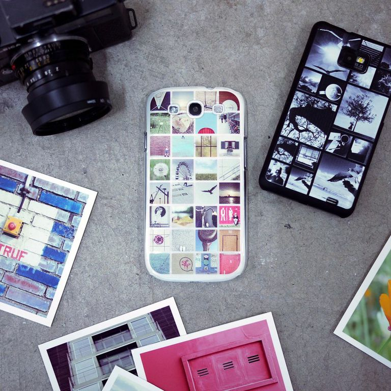 Make a phone case with Instagram photos