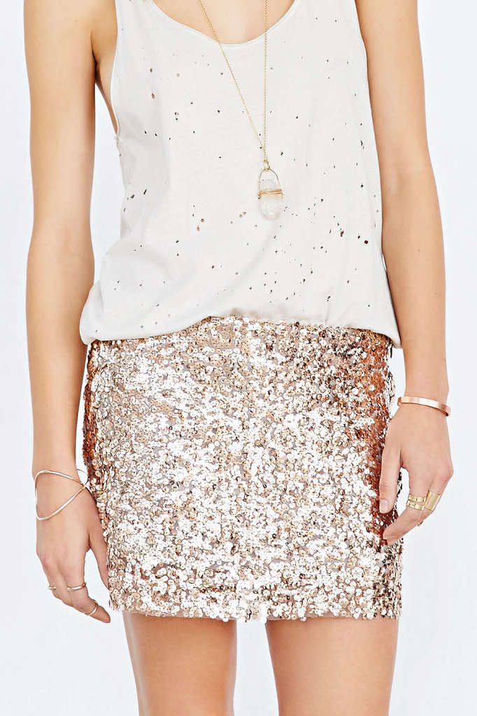 Love Sadie Sequin Mini Dress