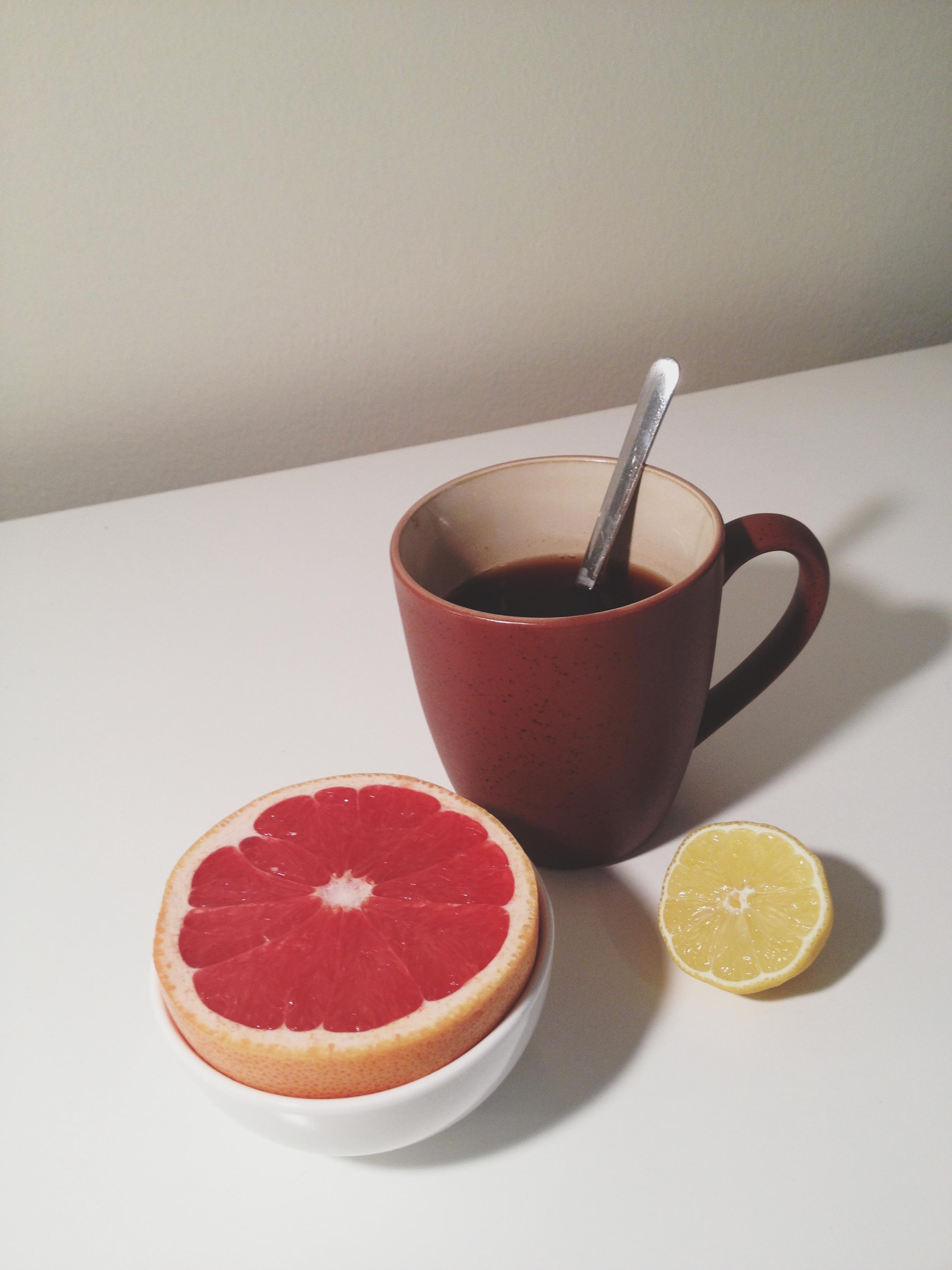 Citrus and tea